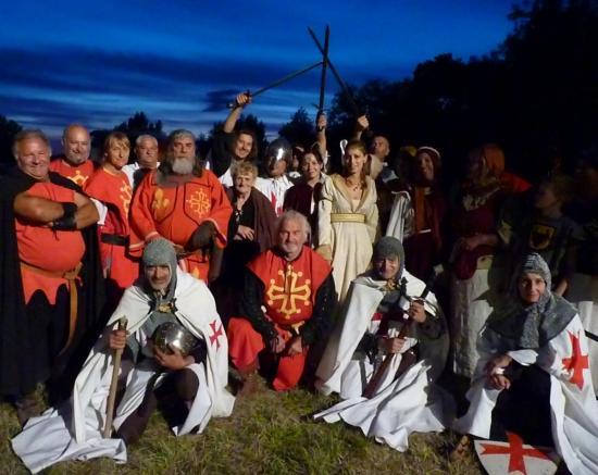 Medieval et spect histor graulhet 21 juil 2012 article